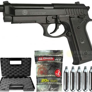 Pack Airsoft - PT92 ABS - Taurus - 0.5 J